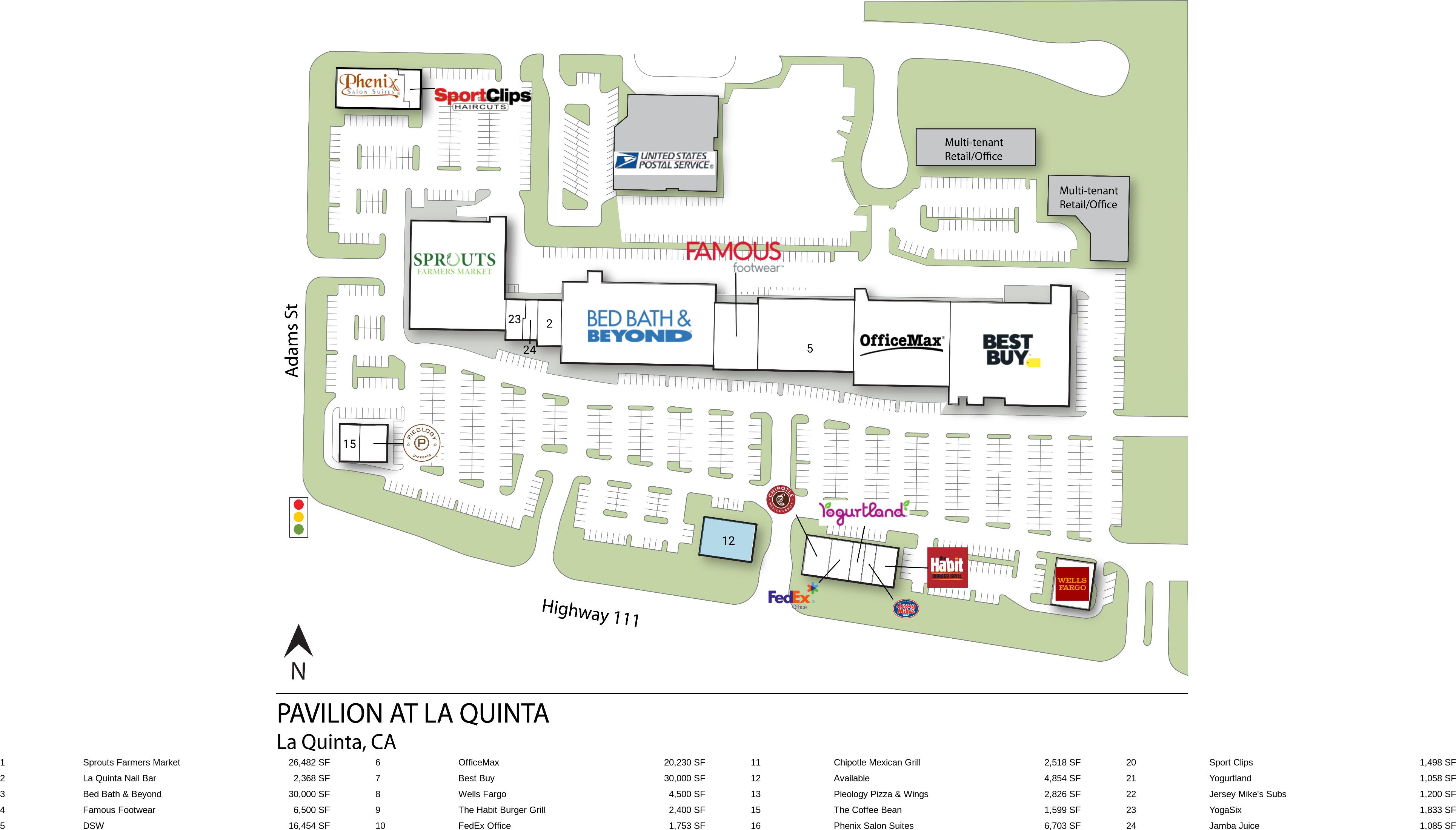 La Quinta CA Pavilion At La Quinta  Retail Space  InvenTrust